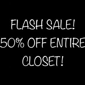 FLASH SALE - ACT FAST!